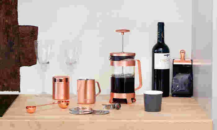 エレガントで美しいコーヒーアイテム【BARISTA & CO】の世界