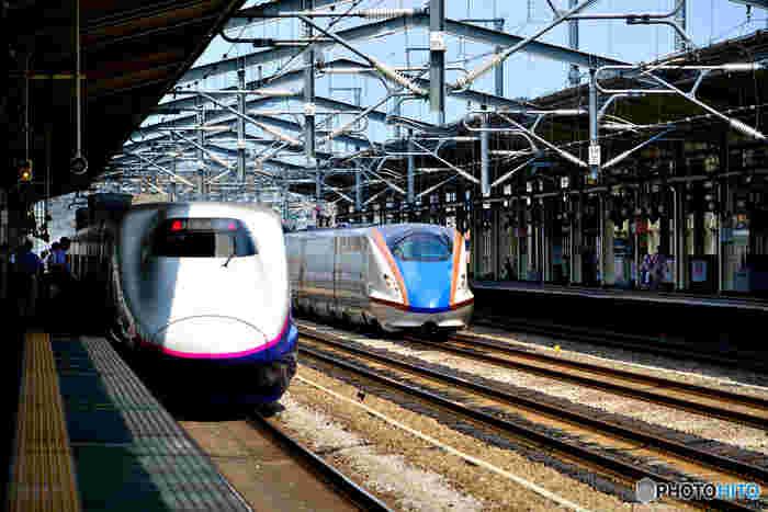 高崎市の観光の拠点となる高崎駅は9路線が乗り入れる北関東最大のターミナル駅で、上越新幹線と北陸新幹線の分岐点となっています。高崎駅までは東京駅から新幹線で約1時間、在来線でも都内から約2時間弱と、アクセスも良好なので、日帰り観光スポットとしても人気があります。