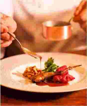 ひとつひとつの素材と向き合い、丁寧に素材の美味しさを引き出した料理は、どれもとても美味しく、見た目の美しさにもうっとり。