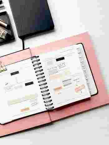 やっぱり手帳が好き♪人気ブロガーさんの使い方アイデア&おすすめアイテム