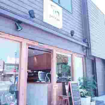 閑静な街、田園調布の駅近く、2016年春にオープンした「pelican coffee(ペリカンコーヒー)」。