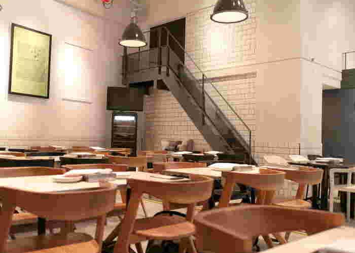 1870年創業のイタリアに本店を持つこちらのお店の恵比寿店は、なんと世界2号店なんだそうです。本国イタリアでも行列のできる大人気のお店なんです。