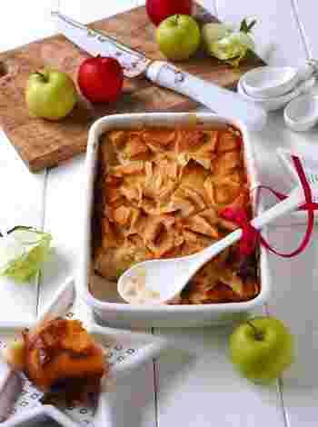 プリンとケーキのよさを併せ持つ、ファーブルトンのレシピです。プリン液に小麦粉を加えるだけで、カスタードのようなもっちり食感を楽しめますよ。熱々でも、冷やして食べても◎