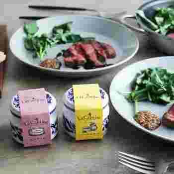 ラ・カンティーヌのシリーズは、ソースも人気。ハニーマスタードソースなどのフレンチソースは、ローストしたお肉や野菜にかけるだけで、あっという間に本格的なフランス料理の味わいになります。