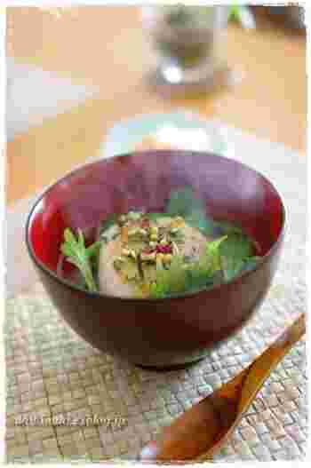 胃腸がちょっぴりお疲れのときに、お腹をいたわる優しいレシピです。